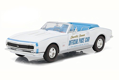 1967 CHEVROLET CAMARO CONVERTIBLE INDY 500 PACE CAR 1/24 BY GREENLIGHT 18221 Convertible Indy Pace Car