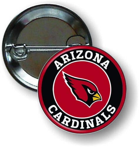 Rocks Arizona Cardinals - Arizona Cardinals NFL Insignia Emblem Pin Pinback Button 1 .25