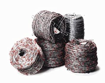 Barbed Wire Fence Supplies | Amazon Com Keystone Steel Wire 70481 1320 4pt Ruth Barb Wire