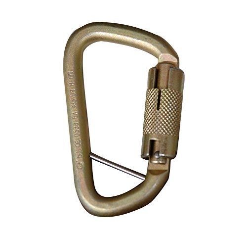 Auto Twist Lock (Elk River 17451 Fall Rated Steel Carabiner with Auto Twist-Lock and Pin, 3600 lbs Gate, 3/4