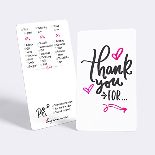 Tiny Love Cards - Set of 85 Mini