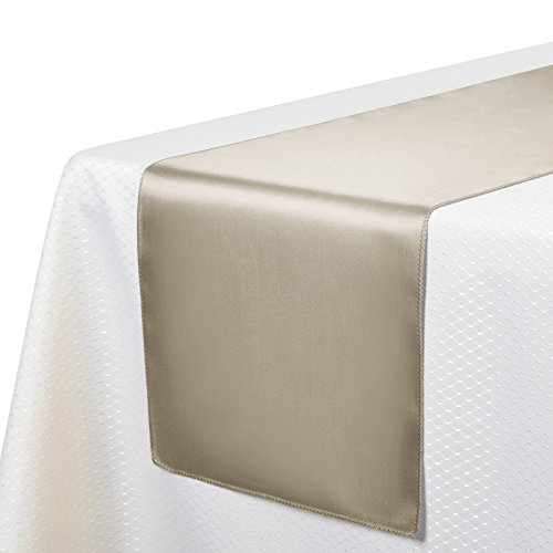 quilted table runner gold - 9