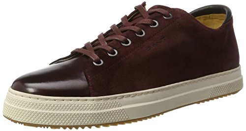 Red Gant Uomo Sneaker Rosso G504 wine Star Xqwr1aHBX