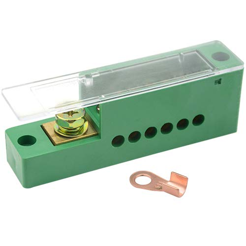 WGCD WMYCONGCONG 690V 30A Single Phase 1 Inlet 6 Outlet Meter Box Junction Power Distribution Terminal Block 4350442258