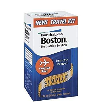 (Bausch & Lomb Boston Simplus Travel Kit-1 oz (Pack of 4))