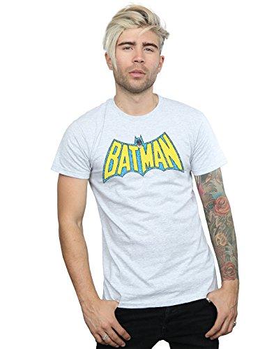 Comics Crackle Homme Sport T Dc Gris Logo shirt Batman dqtw7wnagR