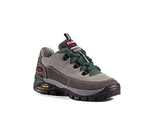 Olang tofane-kid Tex, Zapato de Senderismo Junior Grigio (844 Strada)