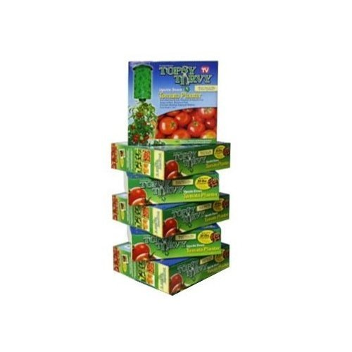 Felknor Ventures 82506 Topsy Turvy Upside-Down Tomato Planter - 6 Pack by Felknor