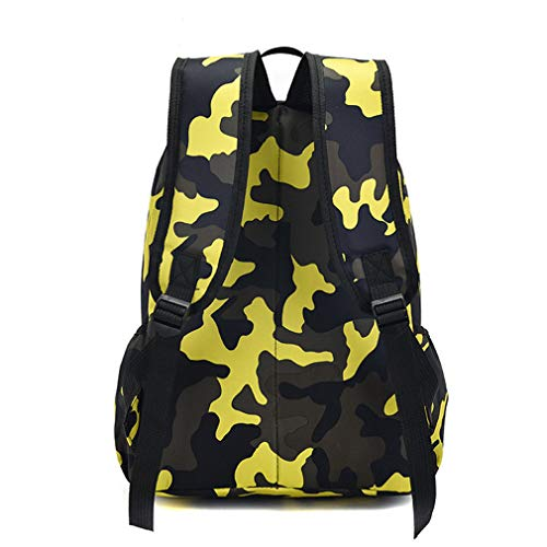 Child Camouflage School Backpacks Oxford green small Rucksack Bags dZrzwxr