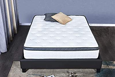 8-Inch, Memory Foam Bed in a Box, Adaptive Comfort Layers, Medium-Firm Feel, Queen
