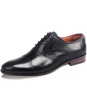 408b09699feba DESAI Homme Chaussures de Ville à Lacets Oxford Mariage
