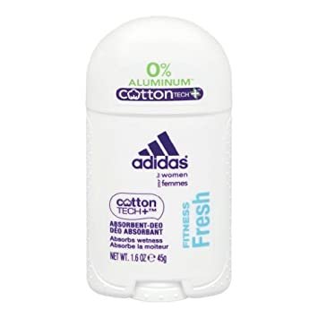 : adidas cotone tech alluminio deodorante gratis, fitness