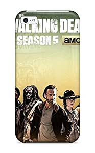 4078490K41448737 Hot Design Premium Tpu Case Cover Iphone 4/4s Protection Case(the Walking Dead)