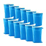 Disposable Urine Bags for Women Men Kids,12 Pcs Emergency Urinal Bags Portable Pee Bags for Travel Outdoor Traffic Jam