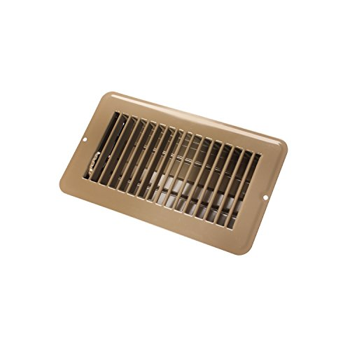 Gable Vents Home Depot (JR Products 02-28975 Dampered Floor Register - 4