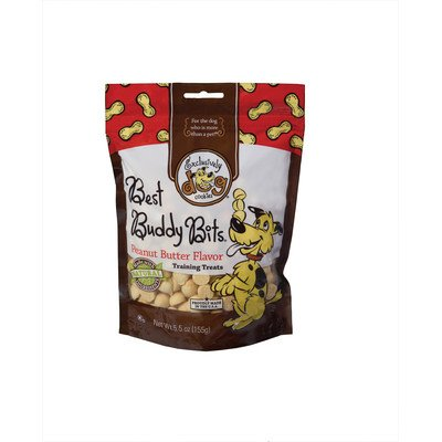 Best Buddy Bits Dog Treat Flavor: Peanut Butter, Quantity: 5.5-oz - Exclusively Dog Best Buddy