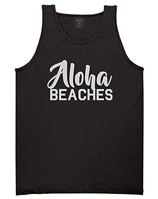 Aloha Beaches Mens Tank Top Shirt