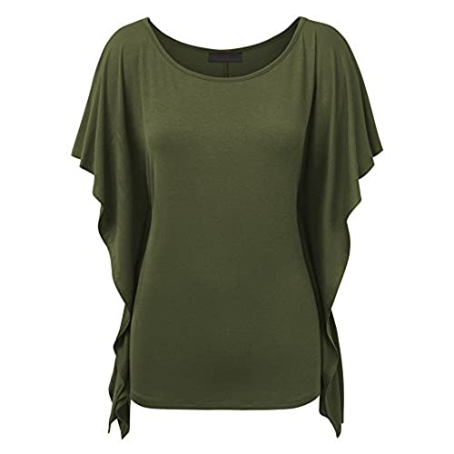Olive Green Plus Size Tops Amazon