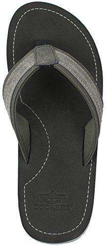 Dockers Heren Austin Premium Casual Sandaal Flip Flop Zwart