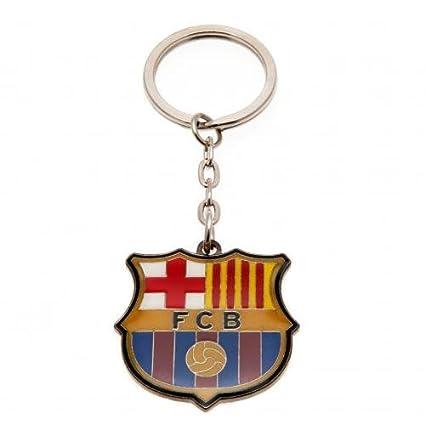 Official FC Barcelona keychain keyring team crest