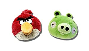 Angry Birds 16 Inch Deluxe Plush Set Of 2 - 2 per Case