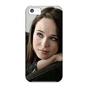 Iphone 5c Hard Back With Bumper Cases Covers Ellen Page Fashion