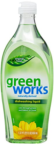 Green Works Dishwashing Liquid - 22 oz - Original