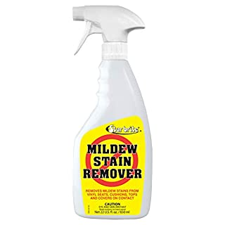 Star brite Mold Stain & Mildew Stain Remover + Cleaner – Lifts Dirt & Removes Mildew Stains on Contact - 22 OZ Spray