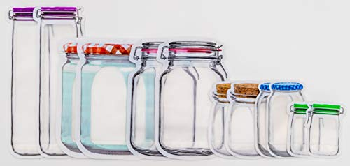 12-pc Mason Jar Style Storage - Sorelle Storage