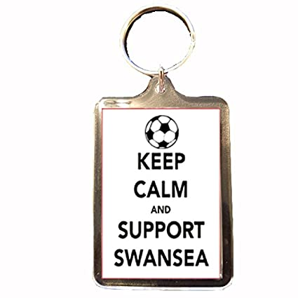 Amazon.com: Swansea City F.C – Keep Calm Llavero: Sports ...