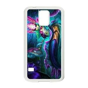 Generic for Samsung Galaxy S5 Cell Phone Case White Nami Custom HHGKAOJFD3229