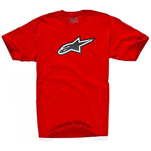 ALPINESTARS Men's Passive T-Shirt, Red, XX-Large