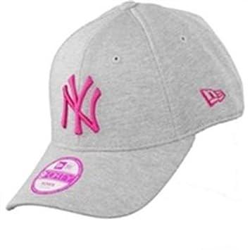 A NEW ERA Jersey ES NY Yankees - Gorra para mujer, color gris, talla única: Amazon.es: Deportes y aire libre