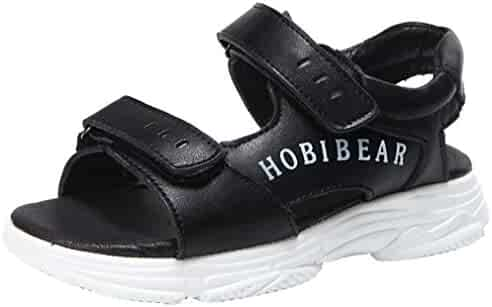 a517ebd5b29 VECJUNIA Boy s Girl s Athletic Sandals Low Top Open-Toe Platform Outdoor  Shoes