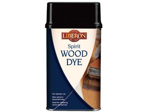 Liberon Spirit Wood Dye Ebony - Wood Liberon