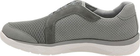 5 Sneaker Morris W Clarks Nubuck Synthetic US 9 Grey Women's McKella EqTxwOTtz