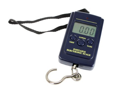 40KG Portable Digital Hangging Luggage Fishing Scale, Outdoor Stuffs
