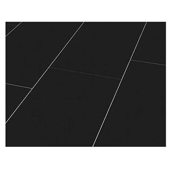 Westco H474420 8 Mm Glänzend Laminat Fliesen Effekt Bodenbelag Plank U2013  Schwarz