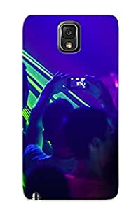 Fashion PCHbSe-1757-HWvhd Case Cover Series For Galaxy Note 3(rave Concert Laser Crowd Concerts People Music )