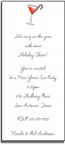 holiday cheer invitations