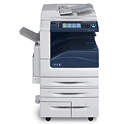 Refurbished Xerox WorkCentre 7835 A3 Tabloid-size Color Multifunction Printer - Copy, Print, Scan, Email, Duplex, 1200 x 2400 dpi, 35 ppm, 110K Duty Cycle