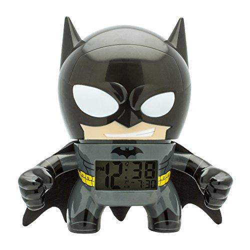 BulbBotz  2020053Batman 7.5 Inches Digital Quartz Light Up Alarm Clock