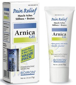 Boiron Arnicare Gel With Multi Dose (Blue) Tube for Muscle Aches, 2.6 Ounce gel + 80 Pellets (Pack of 2)