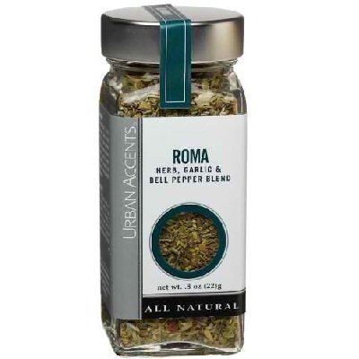 Urban Accents Seasoning Roma#44; 0.8 Oz#44; Pack Of 4 by Urban Accents