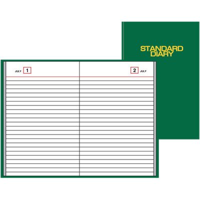 (AT-A-GLANCE Standard Diary Undated Daily Reminder, 6 x 8.75 x 1-Inches, Green (SDU389-03))
