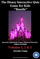 The Disney Interactive Quiz Game for Kids Bundle (Volumes 1, 2 & 3)