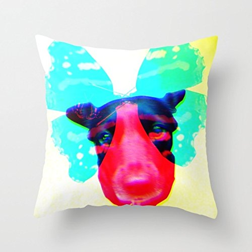 Uloveme Dogs Pillow Shams 18 X 18 Inches / 45 By 45 Cm Best Choice For Chair,son,couch,sofa,home Theater,gril Friend With 2 Sides