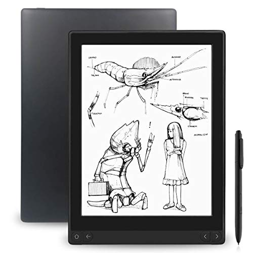 "Likebook Mimas E-Reader, 10.3"", Dual Touch, Hand Writing, Built-in Cold/Warm Light, Built-in Audible, Android 6.0, Octa Core Processor, 2GB+16GB"