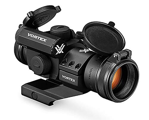 Vortex Optics Strikefire II Red Dot Sight - 4 MOA Red/Green Dot (Best Night Sights For Ar 15)