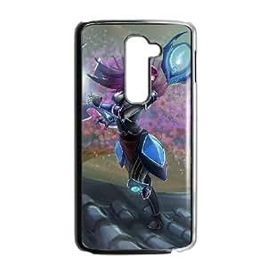 LG G2 Phone Case Covers Black League of Legends Irelia OMZ Unique Phone Case For Boys